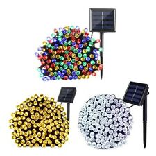 Outdoor Solar Powered 200LED String Light Garden Patio Yard Landscape Lamp Party