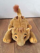 Vintage Disney Simba The Lion King Cub Plush Doll Soft Toy