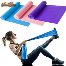 5 Feet Stretch Resistance Bands Exercise Pilates Yoga Aerobic GYM Home Workout