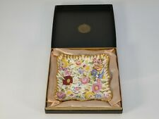 Hammersley Bone China Queen Anne Square Dish Boxed