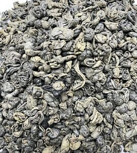 Gunpowder China type loose leaf Green Tea -Ideal for Moroccan Mint Tea-UK seller