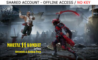 Mortal Kombat 11 PC & Aftermath DLC Steam OFFLINE - READ DESCRIPTION