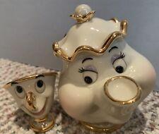 Lenox Classics Mrs. Potts & Chip Figurines