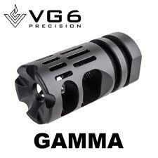 VG6 Precision GAMMA 556 Muzzle Brake for 5.56/223 1/2-28 TPI with Crush Washer