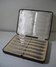 Walker & Hall 1900-1940 Antique Solid Silver Cutlery