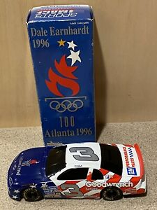 1996 Dale Earnhardt GM Goodwrench Atlanta Olympic 1/24 Action  NASCAR Diecast