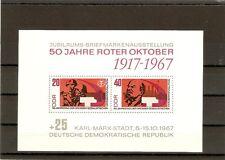 Briefmarken---DDR---1967-----Postfrisch----Mi 1315B - 1316B----Block 26----