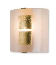 Firstlight Murano Wall Light in Gold Leaf On Glass
