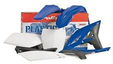 Polisport Plastic Kit Set Yamaha 2000-2001 YZ125 / YZ250 Blue Fenders # Plates