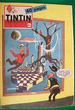 """JOURNAL TINTIN n° 554   """"Le journal des jeunes de 7 à 77 ans Années 1959 / 1960"""""""