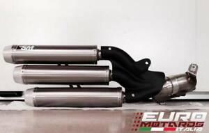 MV Agusta F3 675 800 Silmotor Exhaust Nitrox Slipon Muffler Titanium