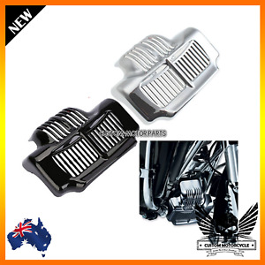 Motorcycle Oil Cooler Cover Harley Touring Road King Electra Street Glide Trikes