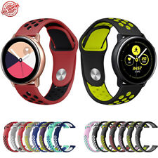 Dual Color Silicone Replacement Band For Samsung Galaxy Watch Active2 Active