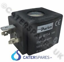 304987 PARKER FILL SOLENOID VALVE COIL HEAD RT14 14w FOR COFFEE MAKER MACHINE