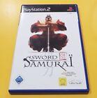 Sword of The Samurai GIOCO PS2 VERSIONE ITALIANA