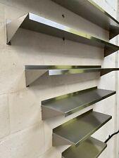 Stainless Steel Shelves 200mm deep - 400mm to 1000mm Shelf Width