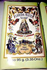 Florida Water Soap Murray Lanman Brand - New Fresh Agua Ponce De Leon LIFE SOAP