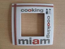 Plaque simple  Arnould Espace COOKING MIAM