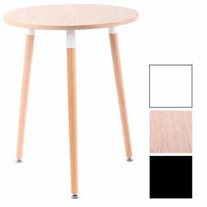 Tavolino Cucina Scandinavo Amalie Legno Tondo Cucina Sala Pranzo Ø 60 cm Tavolo