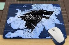 Game Of Thrones Winter Is Coming anti-slip PC laptop Gaming mouse mat pad