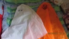 PUMPKIN child's fun cape dress up costume, suitable age 2- 6 years