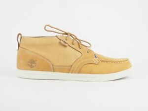 Mens Timberland Earthkeepers Fulk MT 6763A Wheat Leather Lace Up Chukka Boots
