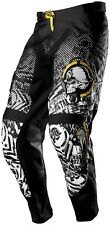 NOS MSR 351017 M13 METAL MULISHA VOLT PANTS BLACK WHITE SIZE MENS 28