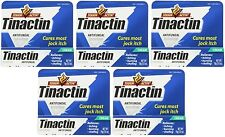 5 Pack - Tinactin Antifungal Jock Itch Cream, Cures Most Jock Itch .5oz Each