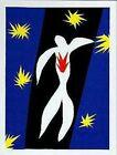 The Fall of Icarus (La Chute Dlcare ) by Henri Matisse 31x24 Museum Art Print