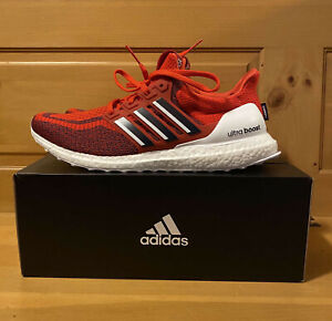 Adidas Men's UltraBoost 2.0 DNA x Jalen Ramsey PE FZ5487 Red White Shoes Size 13