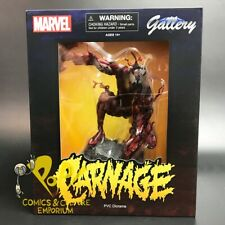 """Spider-Man's CARNAGE Comic Version 9"""" PVC Diorama DST Marvel Gallery!"""