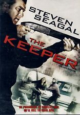 NEW DVD // STEVEN SEAGAL // THE KEEPER / Steven Seagal, Luce Rains, Liezl Carste