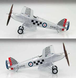 Hobby Master1:48 Hawker Fury Mk I RAF Fighting Cocks, R H Hanmer, HA8001B