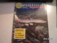 **b Aviation international magazine n°769 Le SO-30 / Ariane / Boeing B-707 - 700