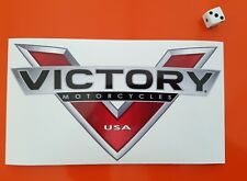 VICTORY  Motorcycle Sticker Decal  200m x 110mm