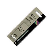 Parker Quink Ink Cartridges - Black Permanent 10 Pack