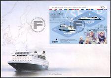 Finland FDC 2014 GTS Finnjet, Cruiseferry, Sheet, Mint