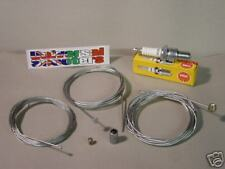 Lambretta Roadside Emergency Kit - Cables, B7ES Spark Plug SX150 GP200