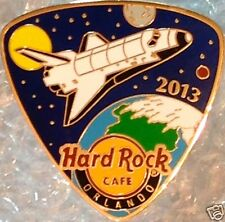 Hard Rock Cafe ORLANDO 2013 SPACE SHUTTLE Guitar Pick PIN LE300 New in HRC Baggy