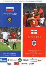 * 2007 - RUSSIA v ENGLAND *