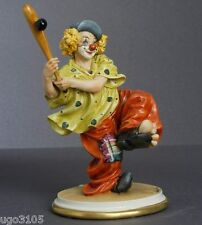 Porcellana di Capodimonte CLOWN Giocatore di Baseball