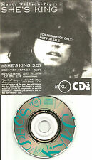 The Church MARTY WILLSON PIPER She's King w/ UNRELEASED 3 INCH PROMO CD single
