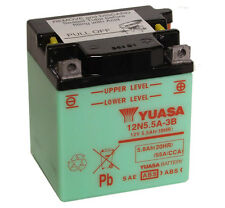Genuine Yuasa 12N5.5A-3B 12V Motorbike Motorcycle Battery
