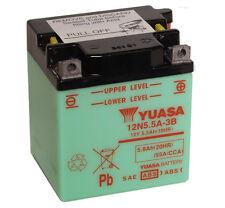 Genuine Yuasa 12N5.5A-3B 12V Motorbike Motorcycle Battery