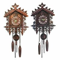 Wall Clocks Cuckoo Pendulum Watch Art Craft Home Decoration Hanging Wood Watches