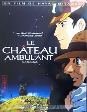 LE CHATEAU AMBULANT Affiche cinéma ROULEE / Rolled Movie poster 53x40 MIYAZAKI