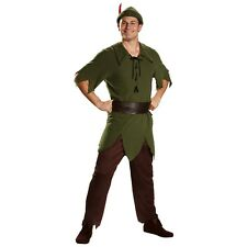 Peter Pan Costume Adult Disney Halloween Fancy Dress