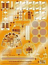 Paragrafix PGX180 - 1/72 Millennium Falcon Photoetch Set For FineMolds