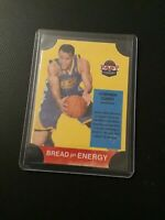 2011-12 Past & Present Bread for Energy #10 Stephen Steph Curry Warriors Mint