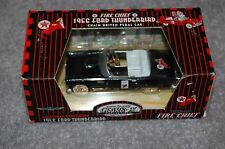 FIRE CHIEF 1956 FORD THUNDERBIRD 1:43 REPLICA DIE CAST CHAIN DRIVEN PEDAL CAR